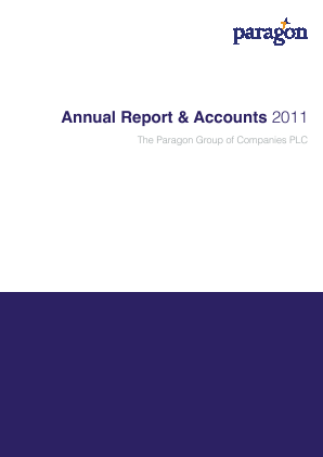 Paragon Group Of Companies annual report 2011