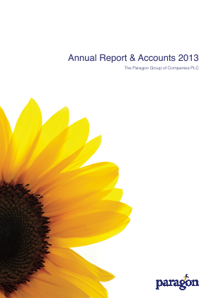 Paragon Banking Group annual report 2013