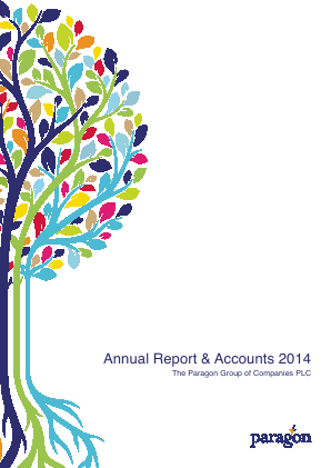 Paragon Banking Group annual report 2014