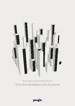 Paragon Group Of Companies annual report 2016