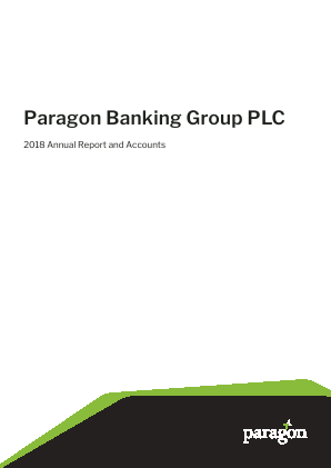 Paragon Banking Group annual report 2018