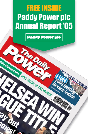 Paddy Power Betfair annual report 2005