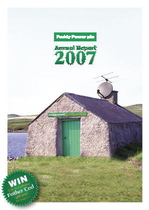 Paddy Power Betfair annual report 2007
