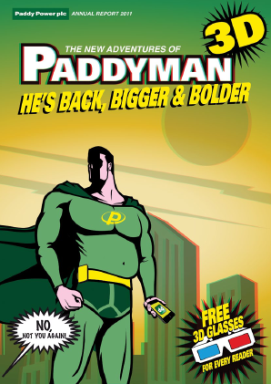 Paddy Power Betfair annual report 2011