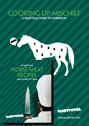 Paddy Power Betfair annual report 2012