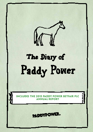 Paddy Power Betfair annual report 2015