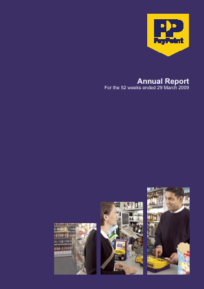 Paypoint annual report 2009