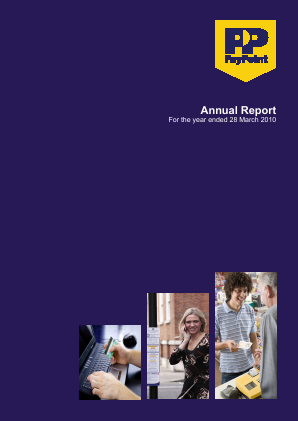 Paypoint annual report 2010
