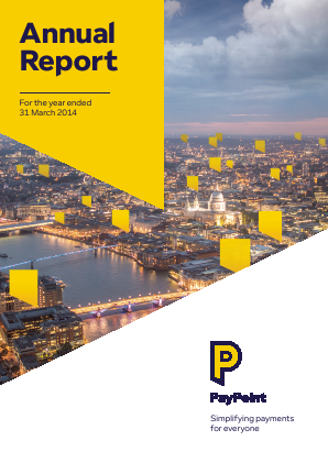 Paypoint annual report 2014