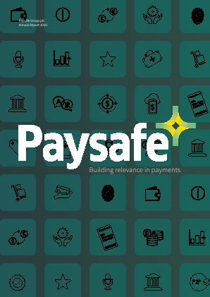 Paysafe Group (formallly Optimal Payments Plc) annual report 2016