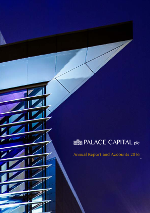 Palace Capital Plc annual report 2016