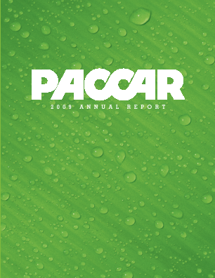 PACCAR Inc. annual report 2010