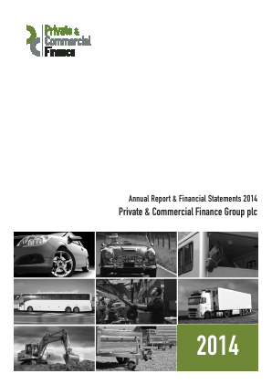 PCF Group (Private & Commercial Finance Group) annual report 2014