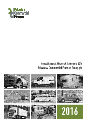 PCF Group (Private & Commercial Finance Group) annual report 2016