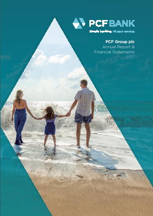 PCF Group (Private & Commercial Finance Group) annual report 2017