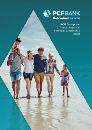 PCF Group (Private & Commercial Finance Group) annual report 2018