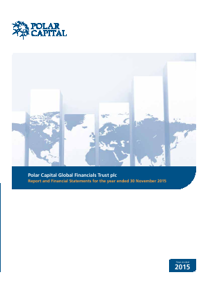 Polar Capital Global Financials Trust annual report 2015