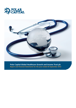 Polar CAP Global Healthcare Growth&Income Trust annual report 2012