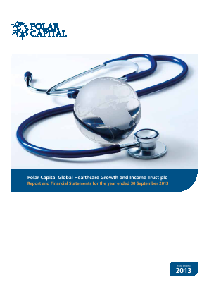 Polar CAP Global Healthcare Growth&Income Trust annual report 2013