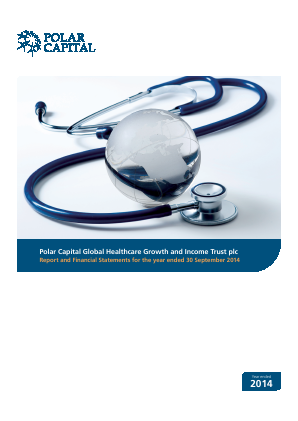 Polar CAP Global Healthcare Growth&Income Trust annual report 2014