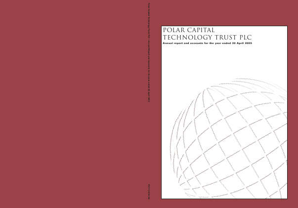 Polar Capital Technology Trust annual report 2005