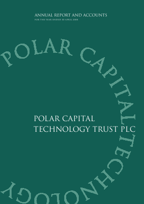 Polar Capital Technology Trust annual report 2008