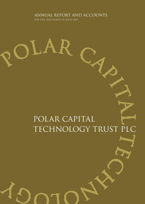 Polar Capital Technology Trust annual report 2009