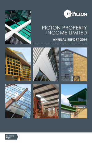 Picton Property Income annual report 2014