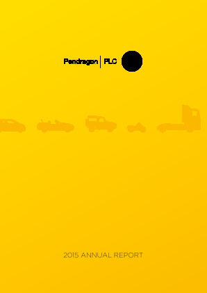 Pendragon Plc annual report 2015