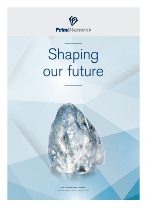 Petra Diamonds annual report 2015