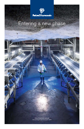 Petra Diamonds annual report 2018