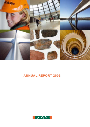 Peab annual report 2006