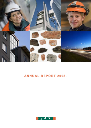 Peab annual report 2008
