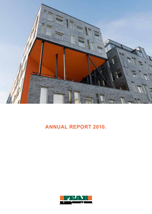 Peab annual report 2010