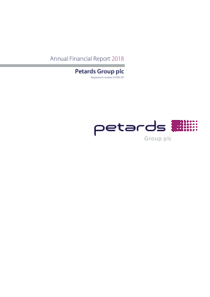 Petards Group annual report 2018