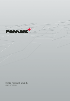 Pennant International Group annual report 2009