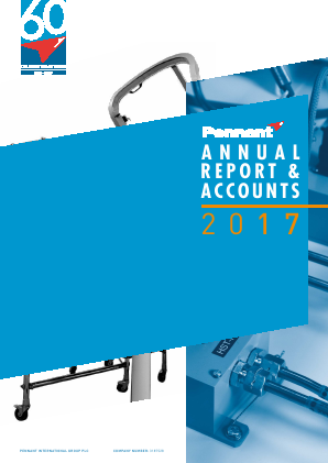 Pennant International Group annual report 2017