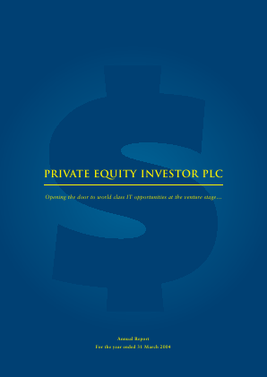 Private Equity Investor annual report 2004