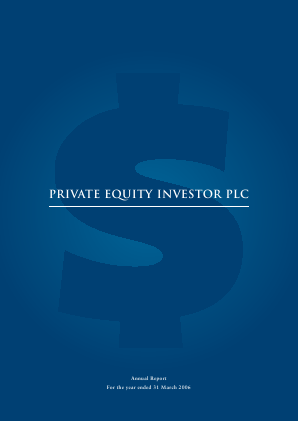 Private Equity Investor annual report 2006
