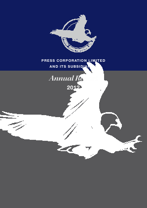 Press Corp annual report 2012