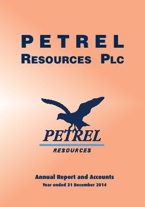 Petrel Resources annual report 2014