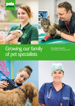 Pets At Home Group Plc annual report 2017