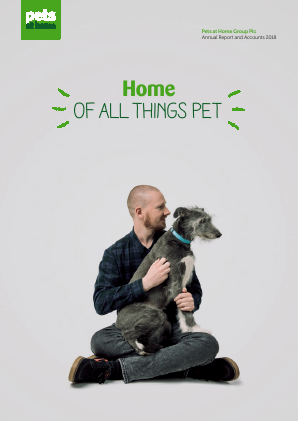 Pets At Home Group Plc annual report 2018