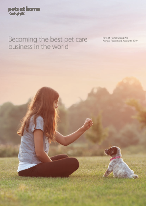 Pets At Home Group Plc annual report 2019