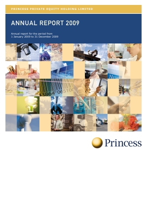 Princess Private Equity Holdings annual report 2009