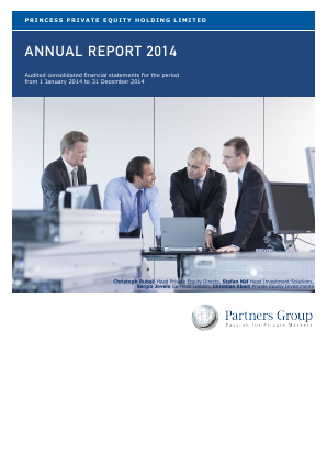 Princess Private Equity Holdings annual report 2014