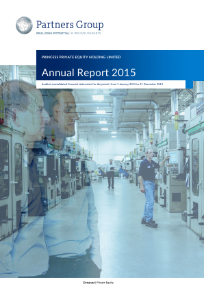 Princess Private Equity Holdings annual report 2015