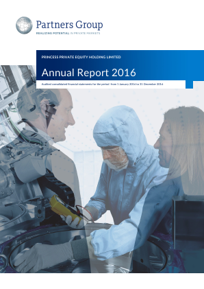 Princess Private Equity Holdings annual report 2016