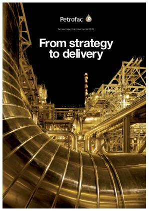 Petrofac annual report 2013