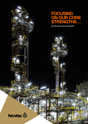 Petrofac annual report 2016